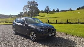 BMW X1 18D LEATHER SAT NAV REVERSING CAM LOW MILLAGE 62K