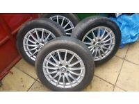 Alfa Romeo 159 16 inch Alloy wheels