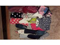 Girl bundle of clothes 18-24 months