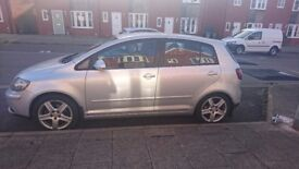 Golf plus; REDUCED FOR QUICK SALE lovely condition, reliable and good milage