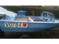 for sale speed boat and trailer