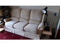 Three seater settee and single chair G-PLAN .