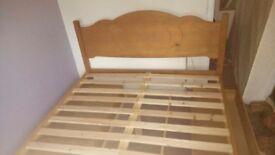 Bed - Kingsize 4 Drawer Bed Frame - Pine