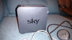 Sky Fibre Broadband Box. Great Condition. Collection Westbourne