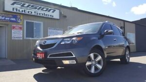 2011 Acura MDX SH-AWD-LEATHER-SUNROOF-BACK UP CAMERA-HEATED SEAT