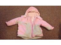 Girls coats 12-18months, various
