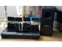 DVD PLAYER AND SOUND SYSTEM