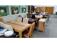 Good selection of dining tables & chair