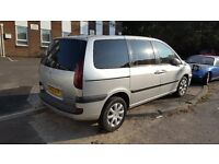 peugeot 807 hdi NEW MOT only 99000 mil very good engine,economical 7 seater MPV(no citroen c8, fiat)