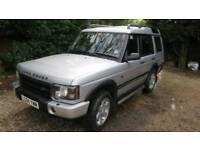 Td5 ES Premium - Excellent condition, silver, seven seat, diesel automatic, MOT Aug 18