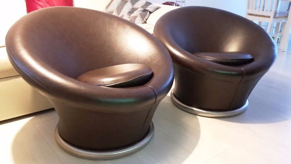 Pierre Paulin Mushroom Chair Model 560 Design Inspired Set Of 2 Chairs Real