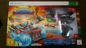 Xbox 360 skylanders super chargers starter pack