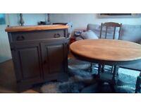 Rustic Dresser/Sideboard/ Cupboard