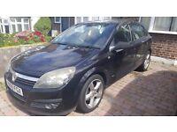 Vauxhall Astra, SRI, Black, Diesel