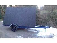 Advertising trailer 10 ft x 6 ft