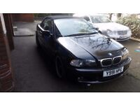 BMW 325 convertible 2001 Mot till 10/ 2018 red leather interior