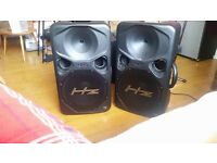 HZ Sound Systems HE 300 Full Range Loudspeaker 300w - PAIR