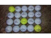 20 Srixon CRX POWER golf balls.