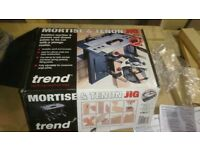 TREND® Mortise & Tenon BENCH JIG