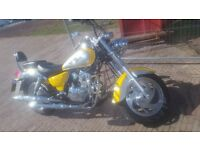 Jinlun 125cc American Style Cruiser Bike