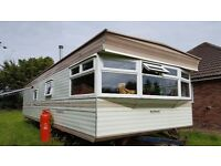 FINAL OFFER Last week. 3 bedroom, double glazed, static caravan 35x12ft in good condition for sale