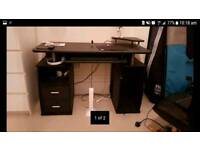 Piranha computer PC desk