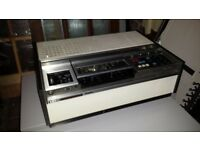 Sony VHS Recorder / Player - Vintage 70s with original cover
