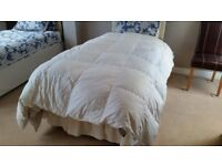 HORROCKES GOOSE FEATHER AND DOWN BED QUILT