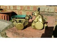 Brembo moped brakes gold yamaha aerox 50cc