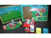 Peppa Pig Jumbo Playset with box