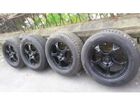 Wheels + Tyres 4 x 16 Inch 205/60/16 phone number 0 7 4 0 5 0 3 1 7 2 2. i think is for bmw