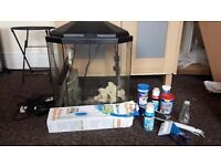 25 Litre Fish Tank with Filter and Heater