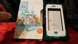 LifeProof iPhone 6 Case, Nuud Series, Riptide Teal (White/Teal)