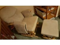 Nursing chair for sale. Must go this weekend