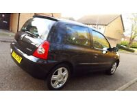 2007 Renault Clio Campus Sport 1.2 16V, Full service history, Long MOT, Nice and clean in and out