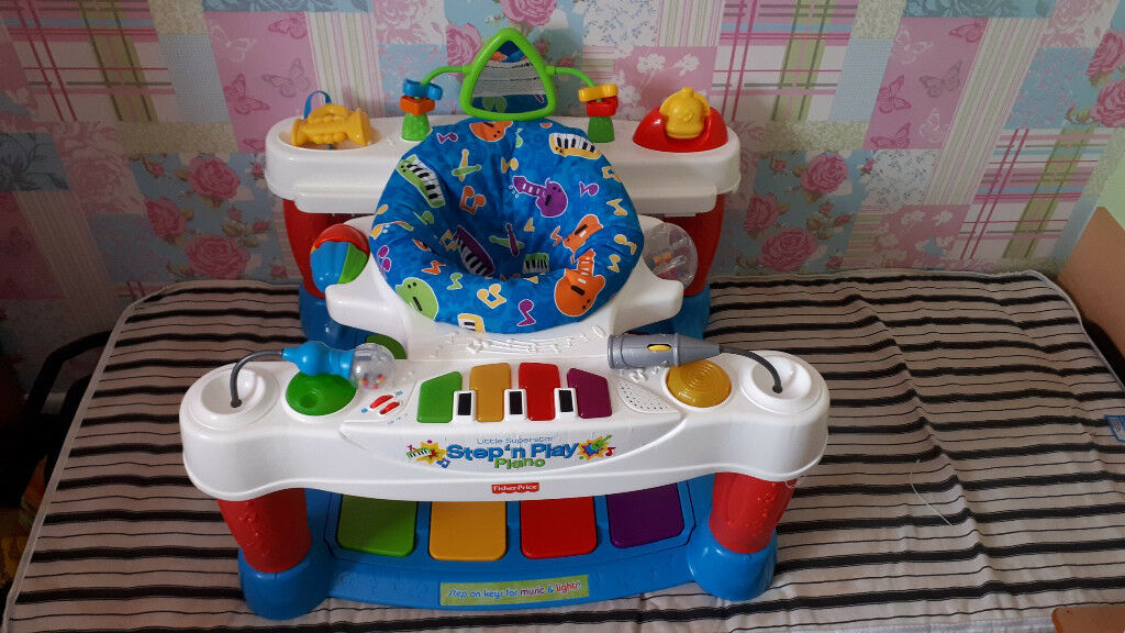 77c938cf6 Fisher-Price Little Superstar Step  n Play Piano - Re-packed into ...