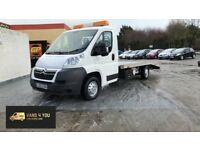 2012 CITROEN RELAY RECOVERY UNIT *14 FOOT BODY* weights 1.6 ton empty