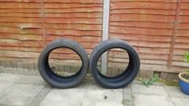 225 40 r18 Bridgestone Runflat Tyres