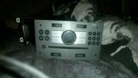Vauxhall zafira original cd stereo
