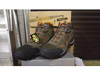 Men's steel toecap boots