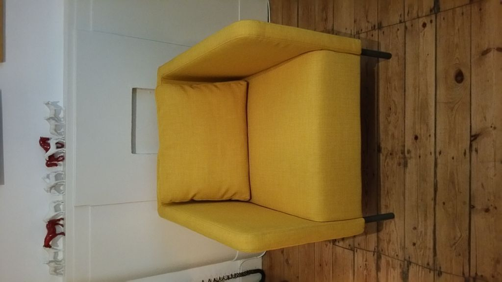 2 X Eker 214 Armchairs Skiftebo Yellow From Ikea In Great