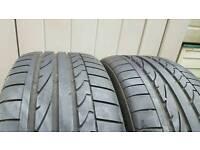 Bridgestone potenza 225/45/17 tires