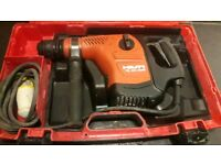 Hilti te40-avr 110v ads combi hammer drill