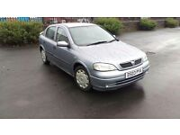 Vauxhall Astra 1.4 Petrol Long Mot Nice Clean And Tidy Car Brilliant Drives Hpi Clear Bargain Price