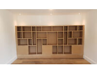 Bespoke cabinet making and carpentry, furniture fitting