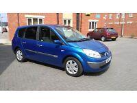 "Renault Megane Grand Scenic 7 Seater. 2005 ""05"". 69k miles.1.6 VVT petrol."