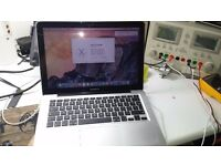 refurbished macbook pro 13 inch 2010 duo core, 4gb ram, 250gb hdd .new osx installed