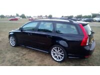 Stunning Volvo V50 R design D5 2.4d FSH Full MOT Bargain!!!!! may P/X?