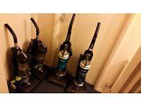 Assorted Hoovers: Hurricane, Hoover Power, Blaze Bagless Vacuum Cleaner