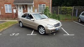 mercedes c240 loads history long mot low milliage very clean car